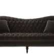 Tufted curve sofa